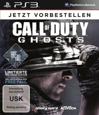 Call of Duty – Ghosts Free Fall ©Activision Blizzard