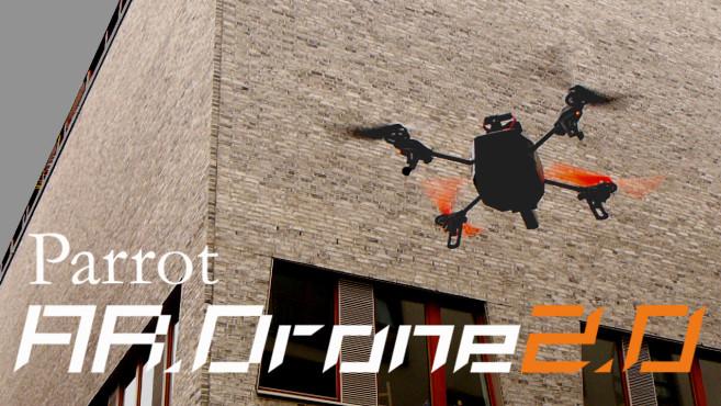 Parrot AR.Drone 2.0 im Flug©COMPUTER BILD, Parrot