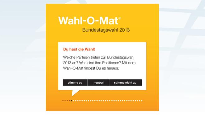Wahl-O-Mat Bundestagswahl©bpb