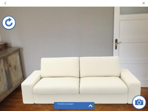 Screenshot: Couch weiß ©COMPUTER BILD