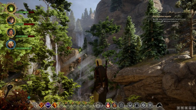 Rollenspiel Dragon Age – Inquisition: Schlucht © Electronic Arts