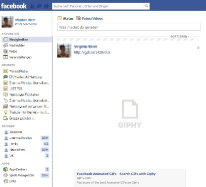 GIF lädt auf Facebook ©COMPUTER BILD