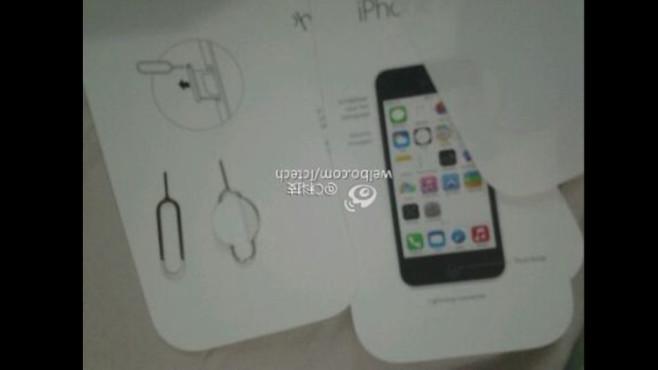 iPhone 5C: Handbuch und neue Schnappschüsse aufgetaucht ©Sina Weibo