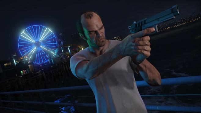 Actionspiel GTA 5: Trevor©Rockstar