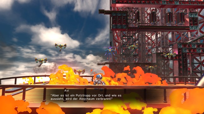 Mighty No. 9 © Deep Silver / Comcept