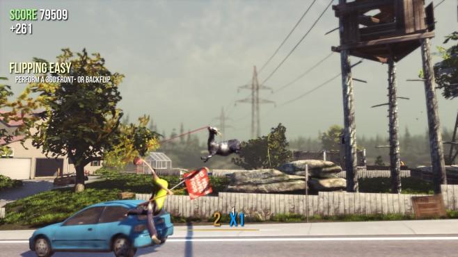 Actionspiel Goat Simulator: Auto©Coffee Stain Studios