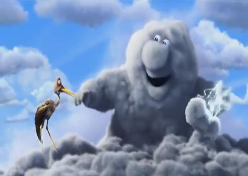 Partly Cloudy (2009) © Pixar Animation Studios