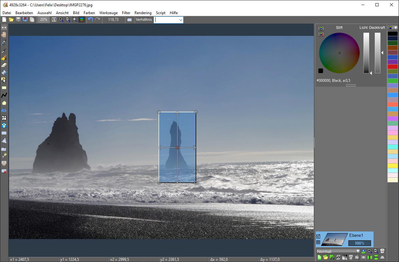 Screenshot 1 - LazPaint