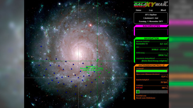 Galaxy War – Qeyons Attack © palefaceGames