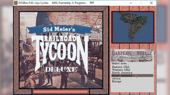 Railroad Tycoon Deluxe ©2K Games