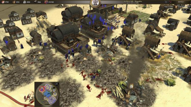 Strategiespiel 0 A.D. ©Wildfire Games
