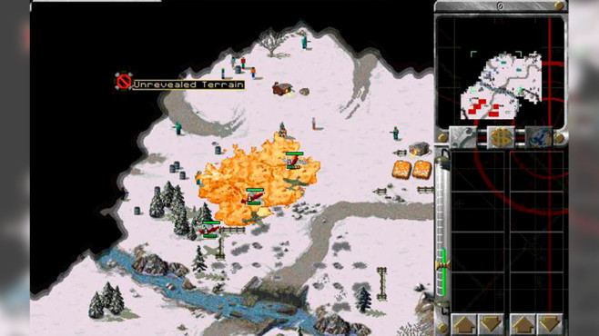 Strategiespiel Command & Conquer – Alarmstufe Rot © Electronic Arts