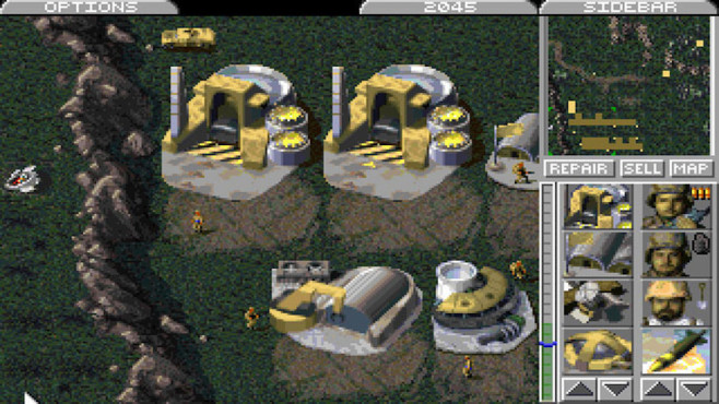 Strategiespiel Command & Conquer – Tiberiumkonflikt © Electronic Arts