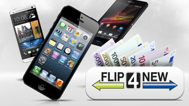 So viel bekommen Sie für Ihr altes Smartphone©Apple, HTC, Sony, Flip4New, COMPUTER BILD