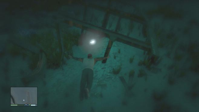 Actionspiel GTA 5: Raumschiffteil ©Rockstar Games