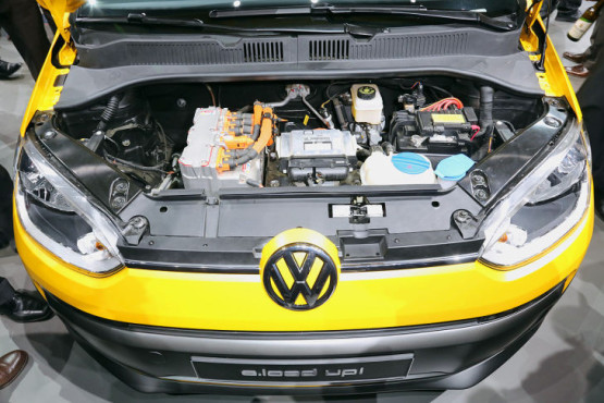 VW e-load Up © AUTO BILD
