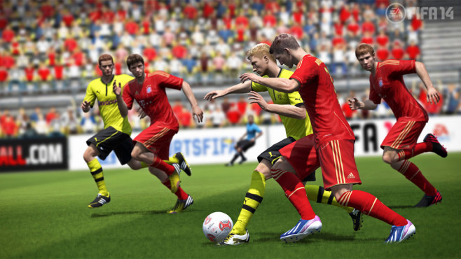 Fußballspiel Fifa 14: Tor©Electronic Arts