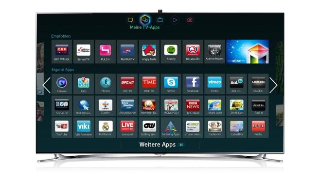 Samsung TV Apps©Samsung