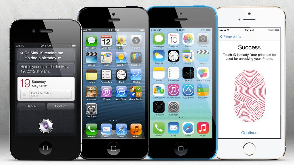 vergleich sind iphone 5s 5c und 5 wirklich so. Black Bedroom Furniture Sets. Home Design Ideas