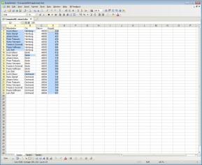 Kingsoft Spreadsheets Free 2012