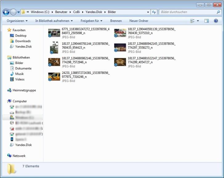Screenshot 1 - Yandex Disk