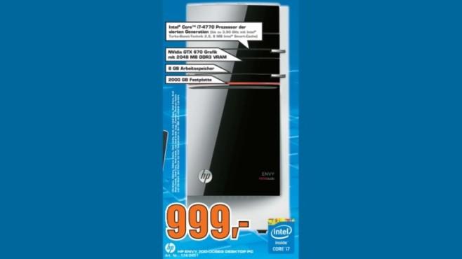 HP Envy 700-005EG ©Saturn