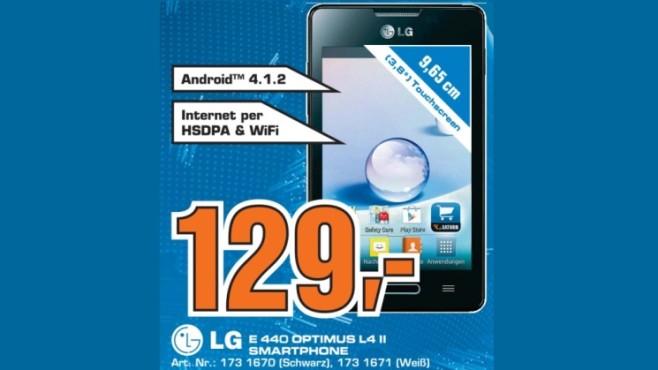 LG E 440 Optimus L4 II ©Saturn