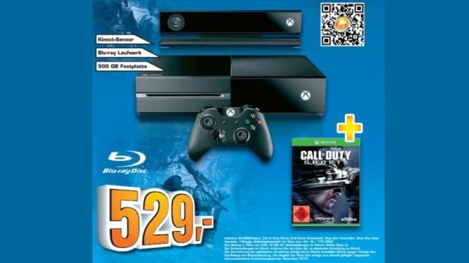 Microsoft Xbox One 500GB Premium Bundle ©Saturn