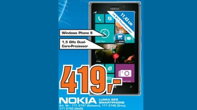 Nokia Lumia 925 ©Saturn