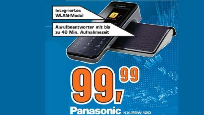 Panasonic KX-PRW 120 ©Saturn
