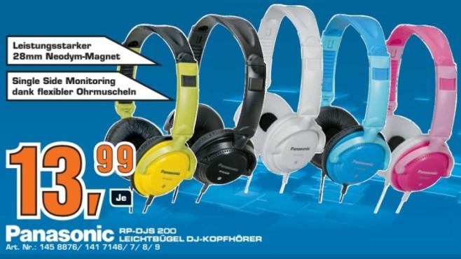 Panasonic RP-DJS 200 ©Saturn