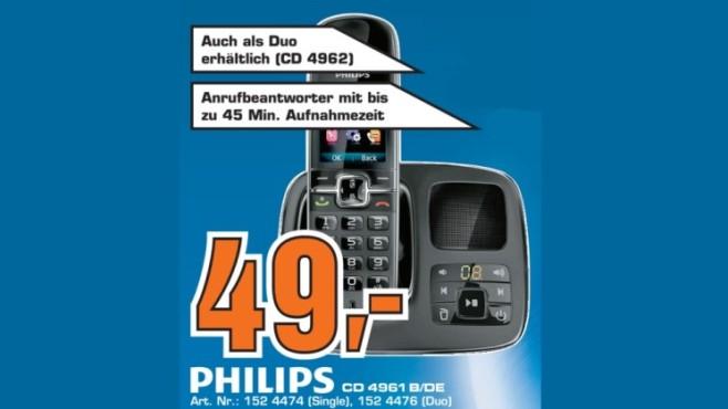 Philips CD 4961 B/DE ©Saturn