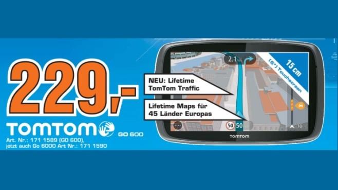 Tom Tom GO 600 ©Saturn