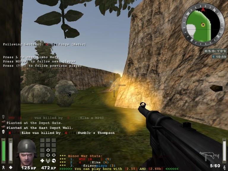 Screenshot 1 - Wolfenstein: Enemy Territory