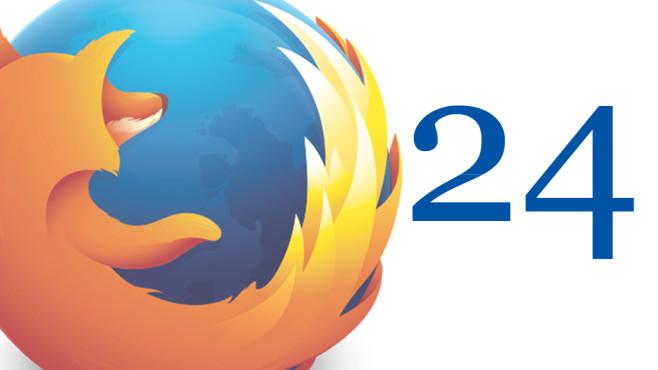 Mozilla Firefox 24©Mozilla