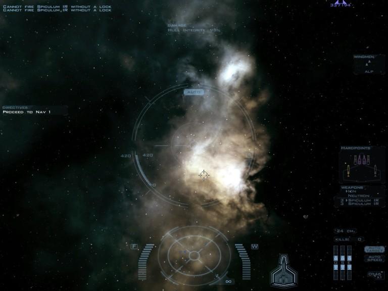 Screenshot 1 - Wing Commander Saga: The Darkest Dawn