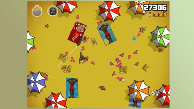 Anwendung GTA 5 – iFruit: Strand ©Rockstar Games
