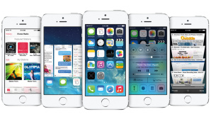 Das iPhone 5S mit iOS 7©Apple