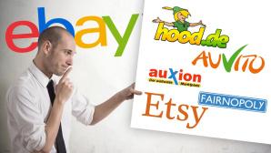 Alternativen zu Ebay©alphaspirit - Fotolia.com, Hood, AuVito, Auxion, Fairnopoly, Etsy, ebay
