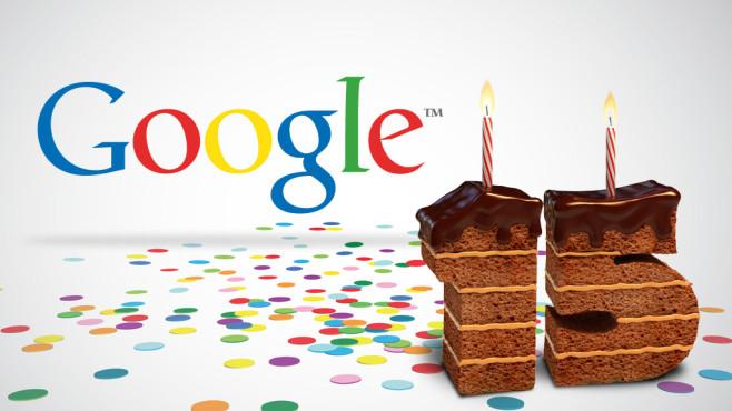 Google Geburtstag 15 Jahre©Google, Artenauta – Fotolia.com