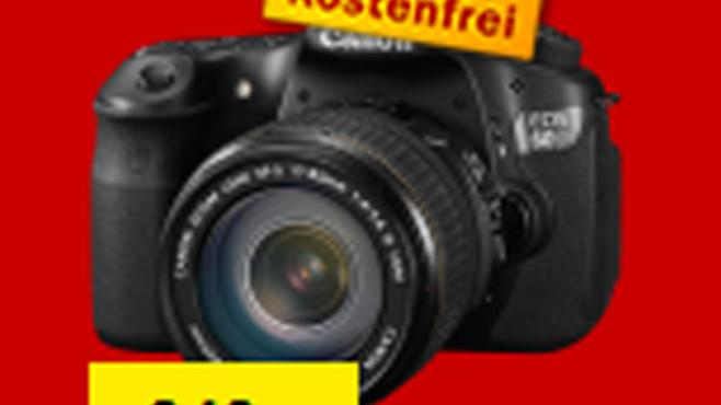 Canon EOS 60D Kit 17-85 mm ©COMPUTER BILD