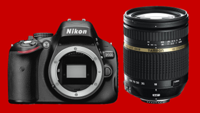 Nikon D5100 Kit 18-270 mm [Tamron] ©COMPUTER BILD
