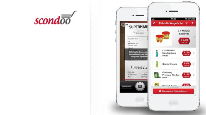 Die Scondoo-App©Scondoo
