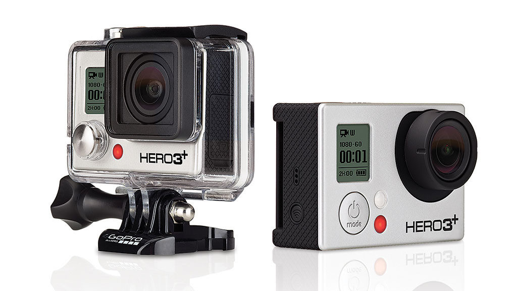 action cam gopro hero 3 mit 4k video audio video foto bild. Black Bedroom Furniture Sets. Home Design Ideas
