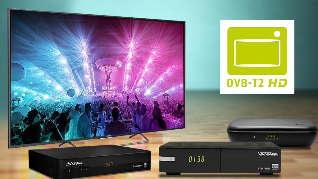 dvb t2 hd receiver antenne fernseher kosten audio video foto bild. Black Bedroom Furniture Sets. Home Design Ideas