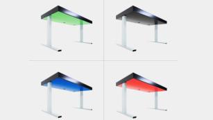 Kinetic Desk in verschiedenen Farben©Stir