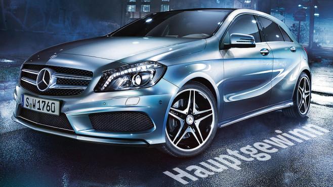 Mercedes A-Klasse ©Mercedes