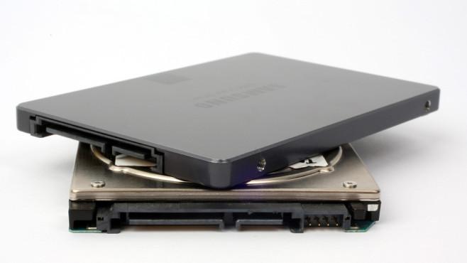 SSD-Anschlüsse ©COMPUTER BILD