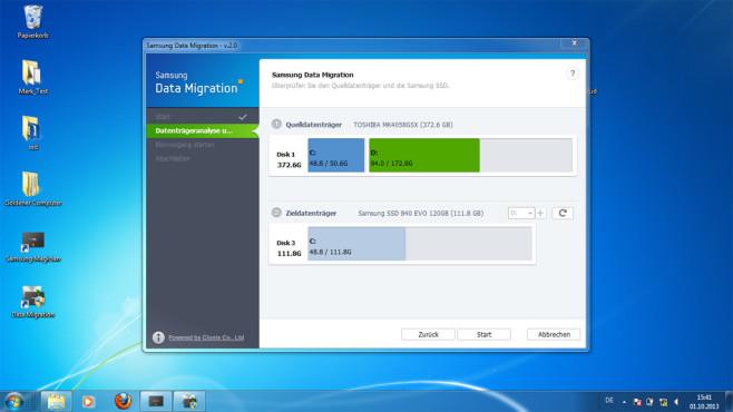 Samsung Data Migration Schritt 2 ©COMPUTER BILD