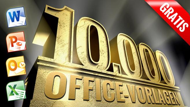 Microsoft Office: Vorlagen bis zum Ende der Festplatte©Bertold Werkmann - Fotolia.com, Microsoft